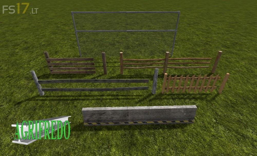 Fencing Pack V 1 0 Fs17 Mods