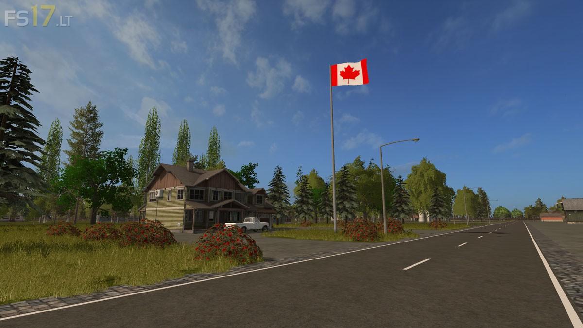Canadian National Map v 11 FS17 mods