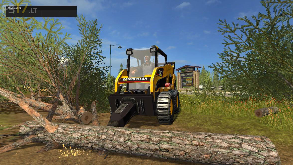 caterpillar  skid steer pack   fs mods