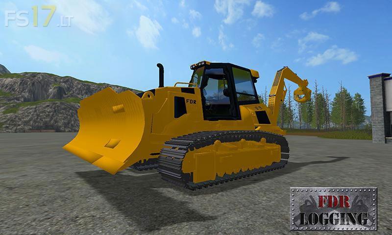 forestry-bulldozer