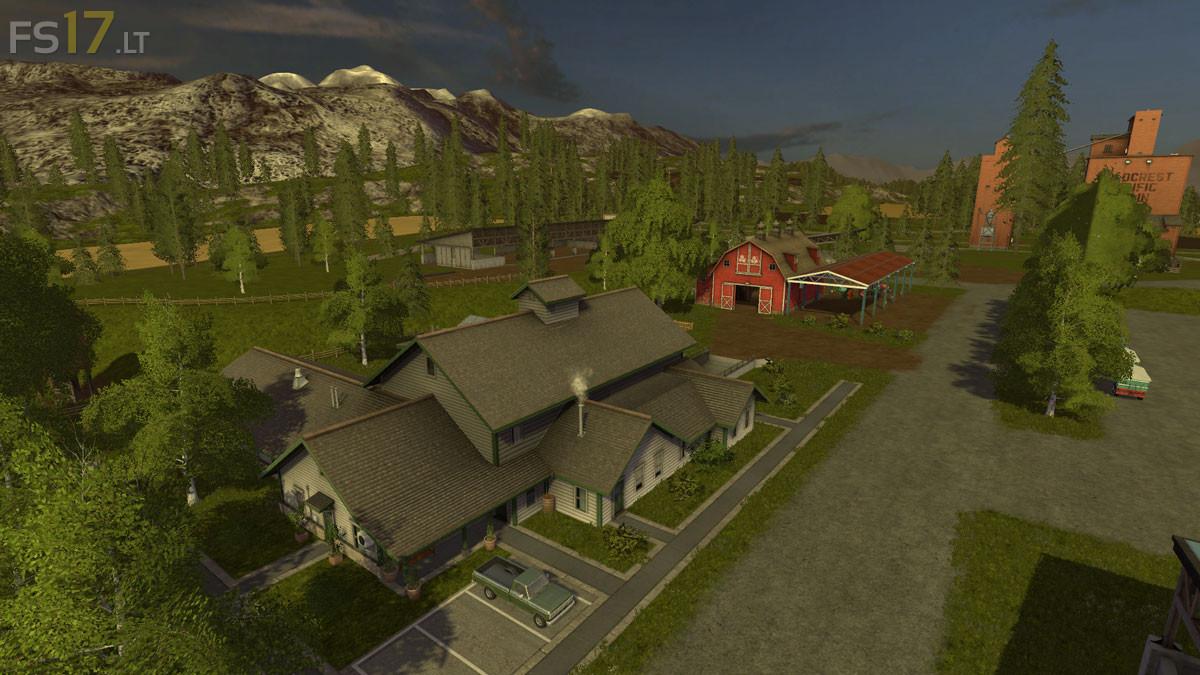 Goldcrest Valley New Hope Map v 1 1 - FS17 mods