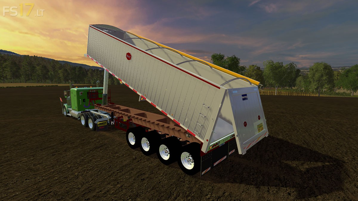 Mac dump trailer v 1 0 fs17 mods