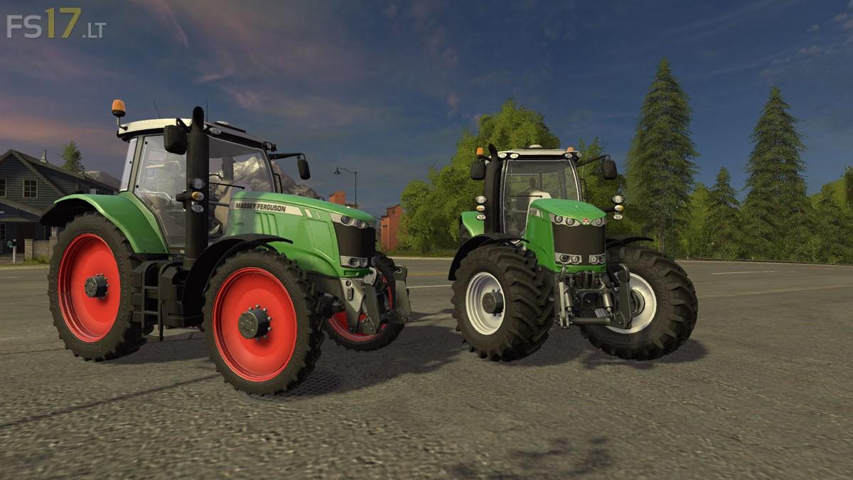 Massey Ferguson 7700 Green V 1 0