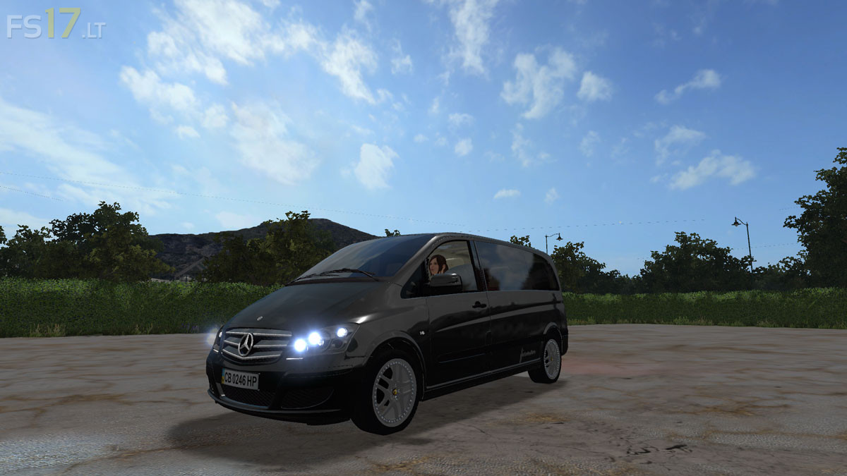 Mercedes benz viano pack v 0 8 fs17 mods for Mercedes benz viano 2017