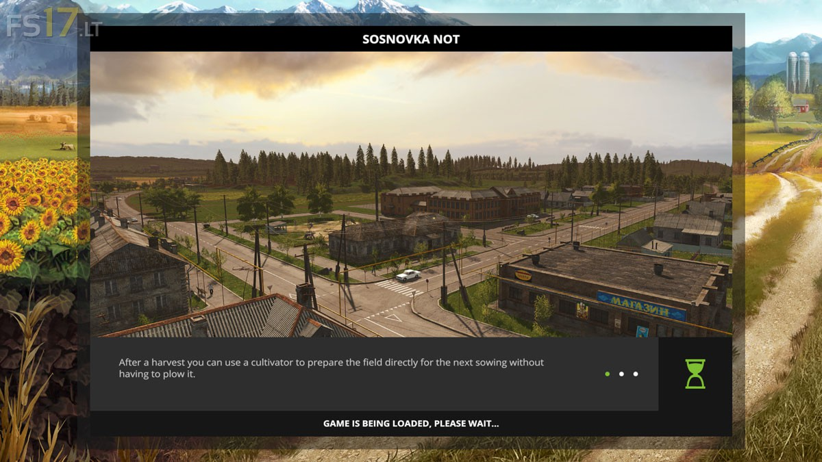 Sosnovka Not Map V 1 0 Fs17 Mods