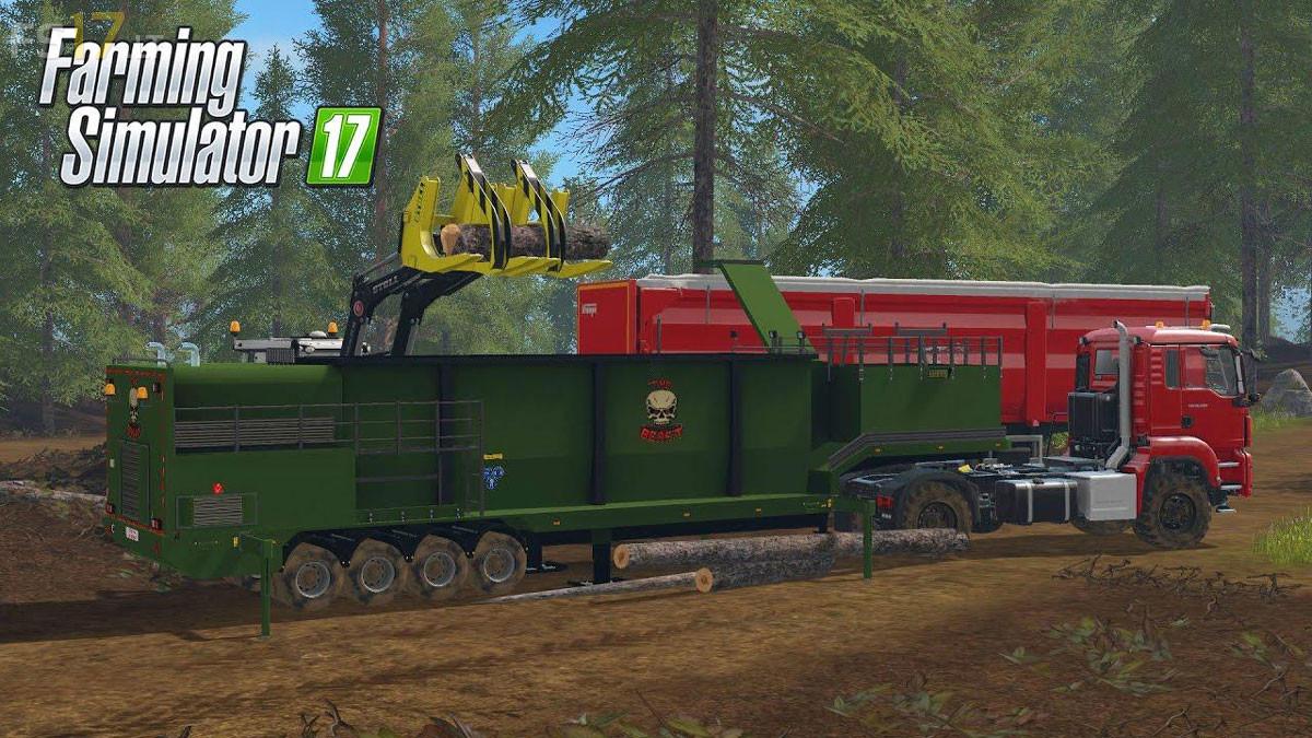 The Beast Trailer v 0 0 0 2 - FS17 mods