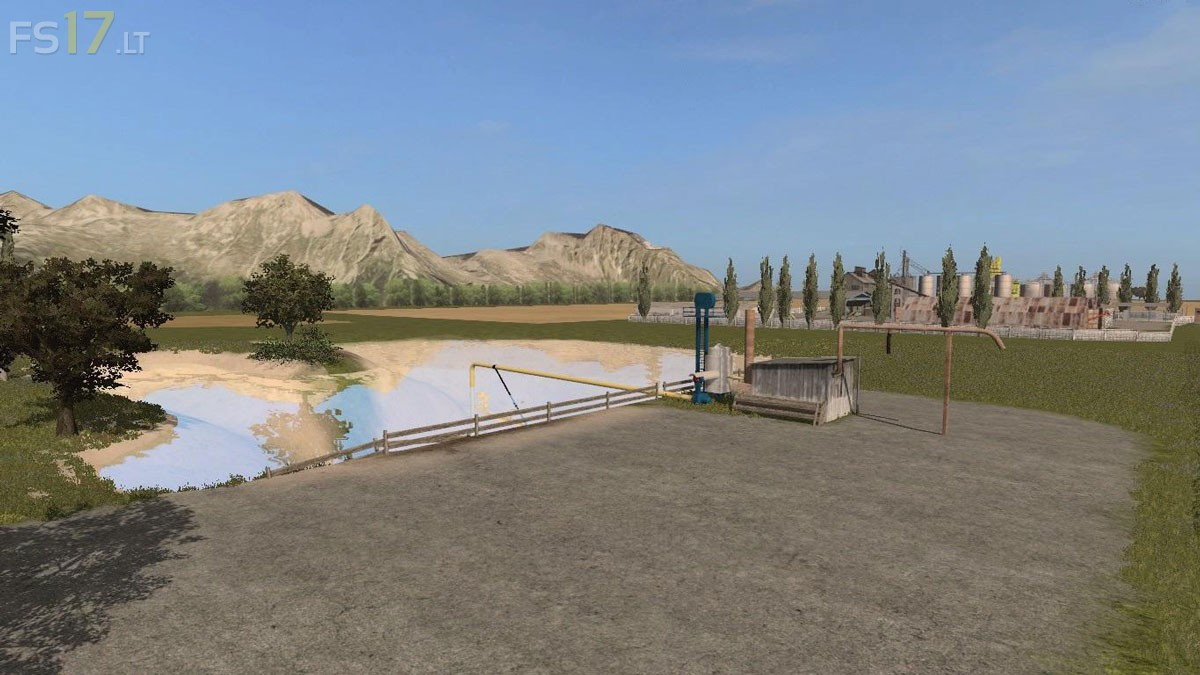 USHill Map V FS Mods - Fs 17 us map