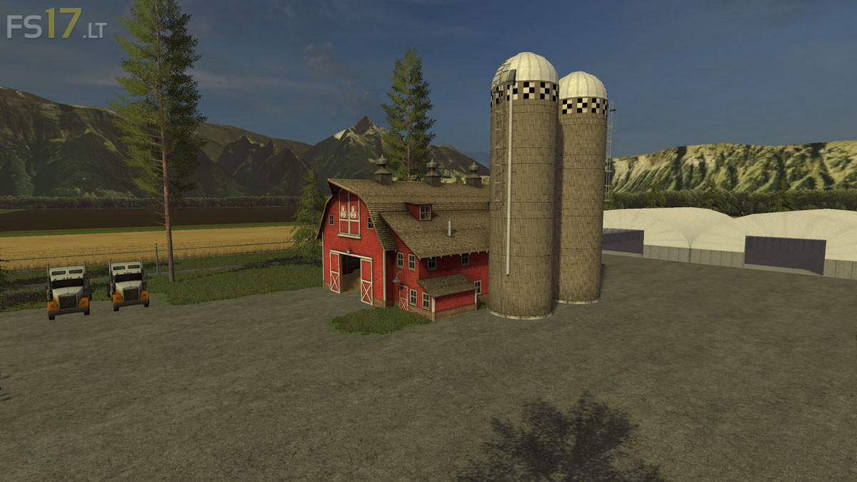 Farming Simulator 17 American Map.American Farm Map V 1 0 Fs17 Mods