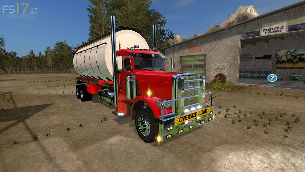 Peterbilt 388 Water Tanker V 1 0 Fs17 Mods