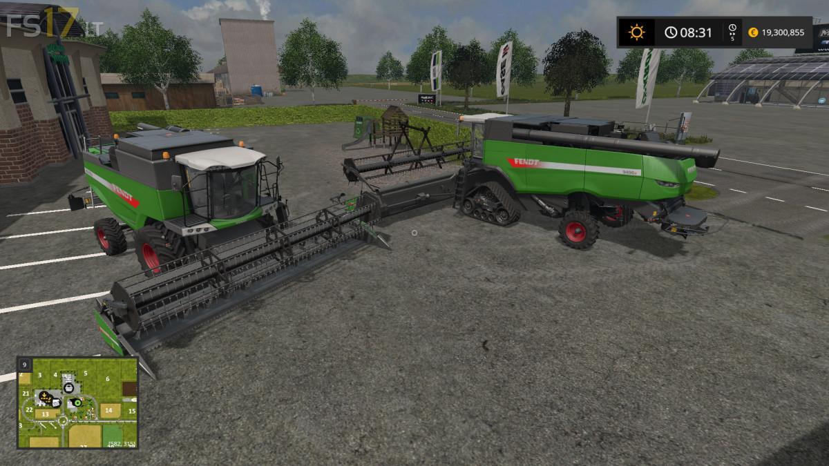 Fendt Harvesters Pack - FS17 mods