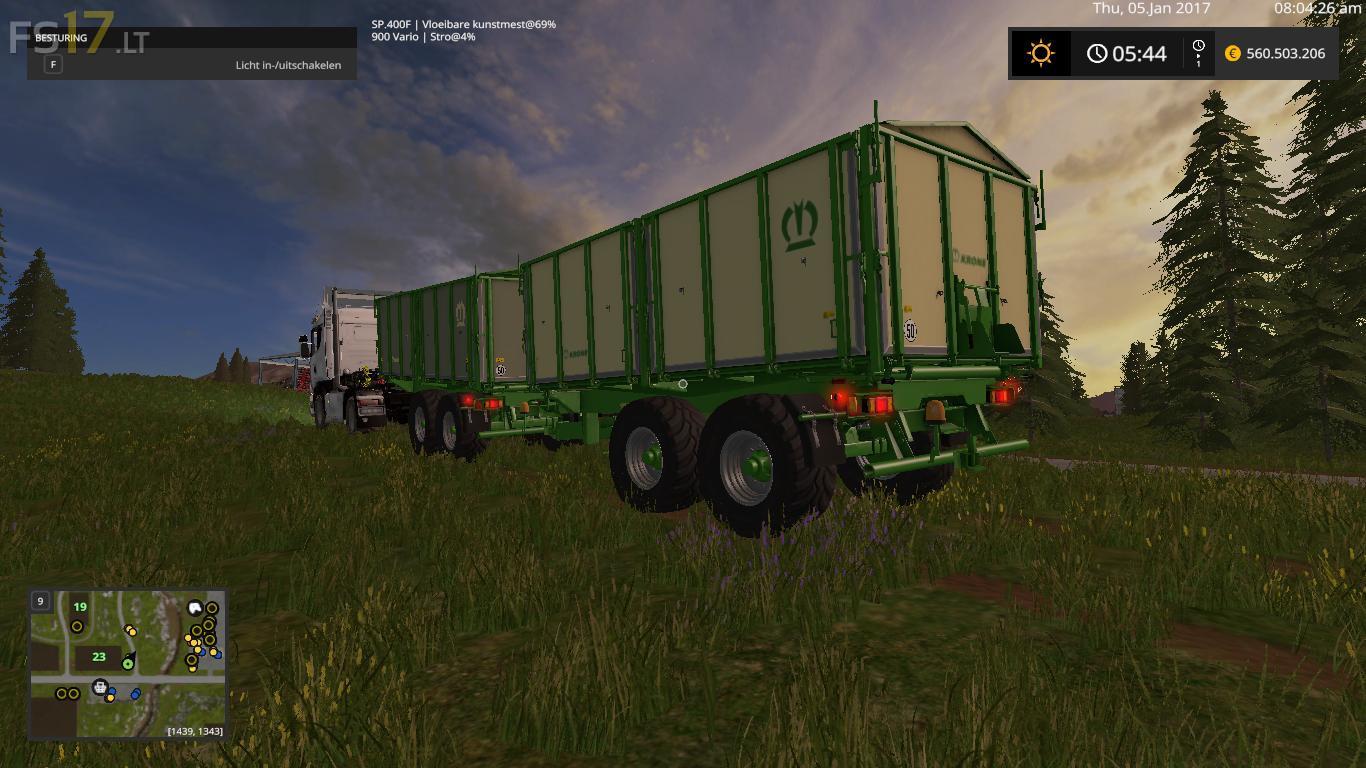 Kroeger DKT 240-18 - FS17 mods