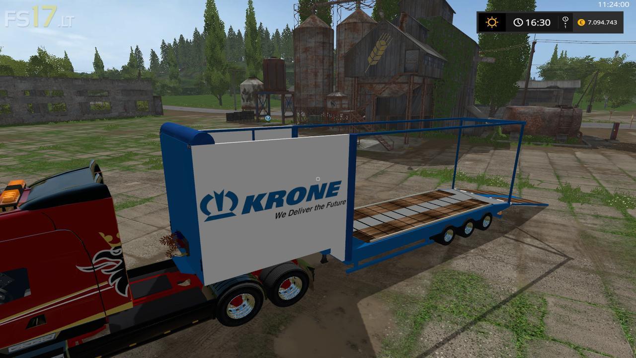 Krone Transported Trailer V 1 0 Fs17 Mods