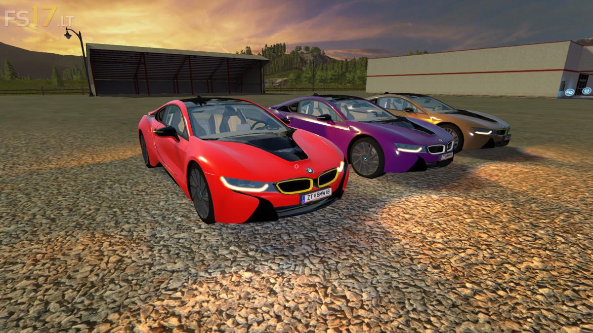 Bmw I8 V 1 1 Multicolor Fs17 Mods