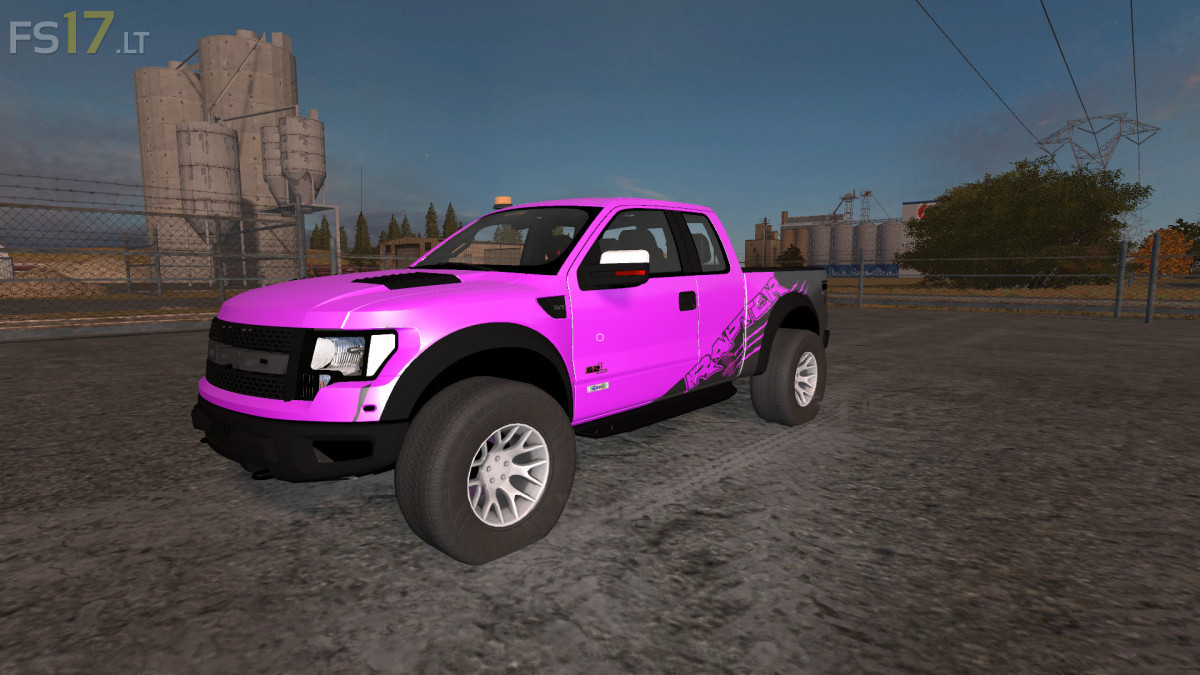 Ford F150 Raptor Autoloader V 1 1 Multicolor Fs17 Mods