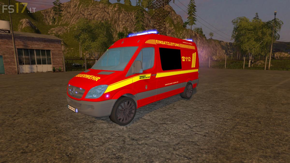Mercedes fire department v 0 9 beta fs17 mods for Mercedes benz complaint department