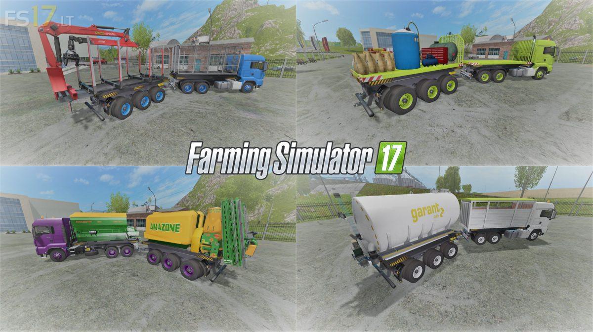 MAN Rigid Frame Pack v 1 0 - FS17 mods