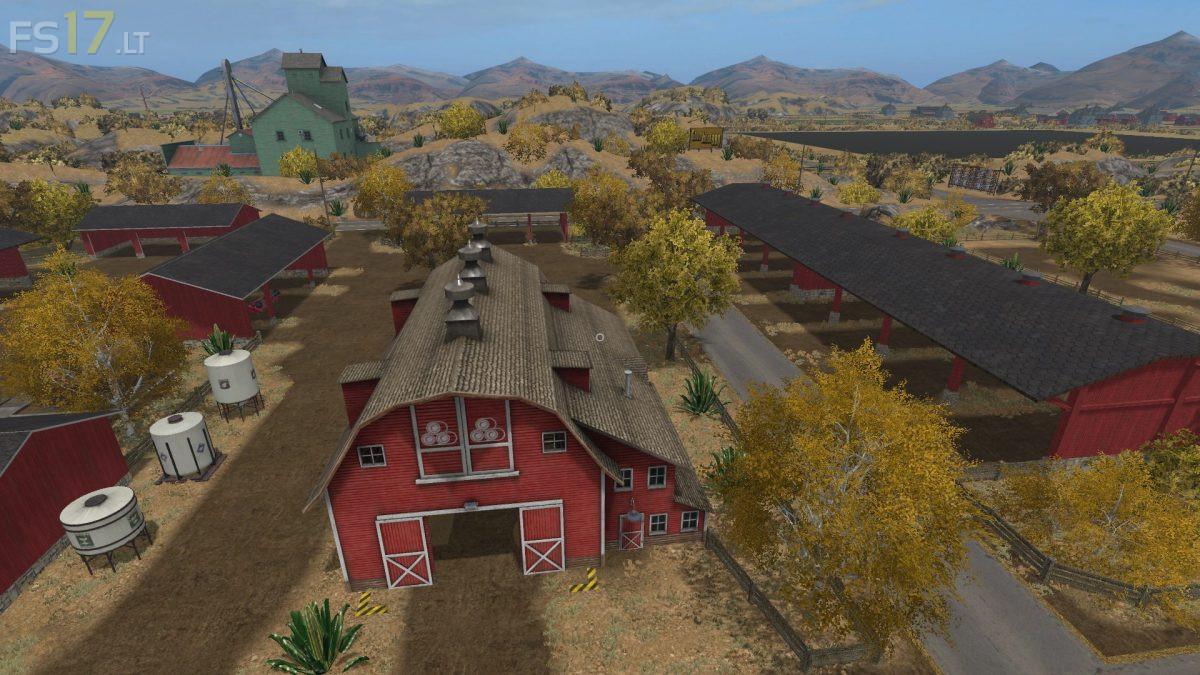 Farming Simulator 17 American Map.American Outback Map V 1 0 Fs17 Mods