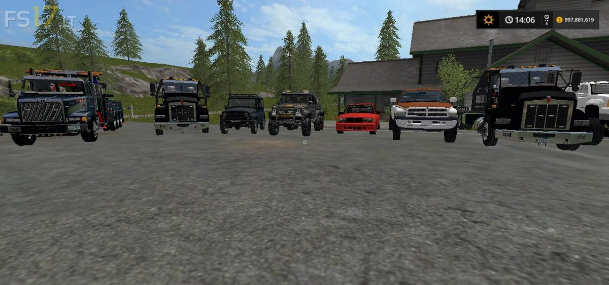 Heavy Towing and Repo Mods Pack v 1.0 – FS17 mods