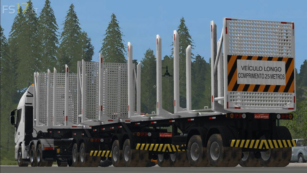 Forest Carriage Trailer v 1 0 - FS17 mods