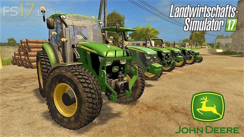 John Deere 5M Series - FS17 mods