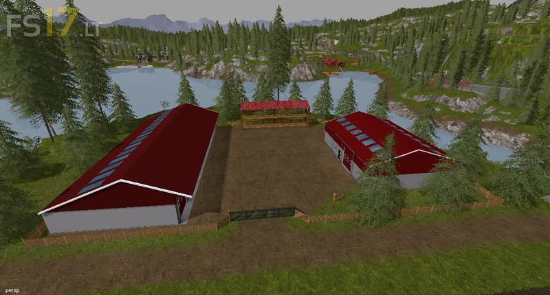 Goldcrest Valley XXL Farm Map v 4 0 - FS17 mods