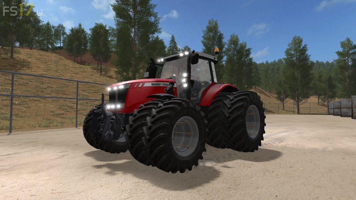 100 ferguson 240 for farming simulator landini u60. Black Bedroom Furniture Sets. Home Design Ideas