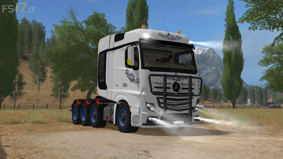 mercedes actros pack v 1 0 fs17 mods
