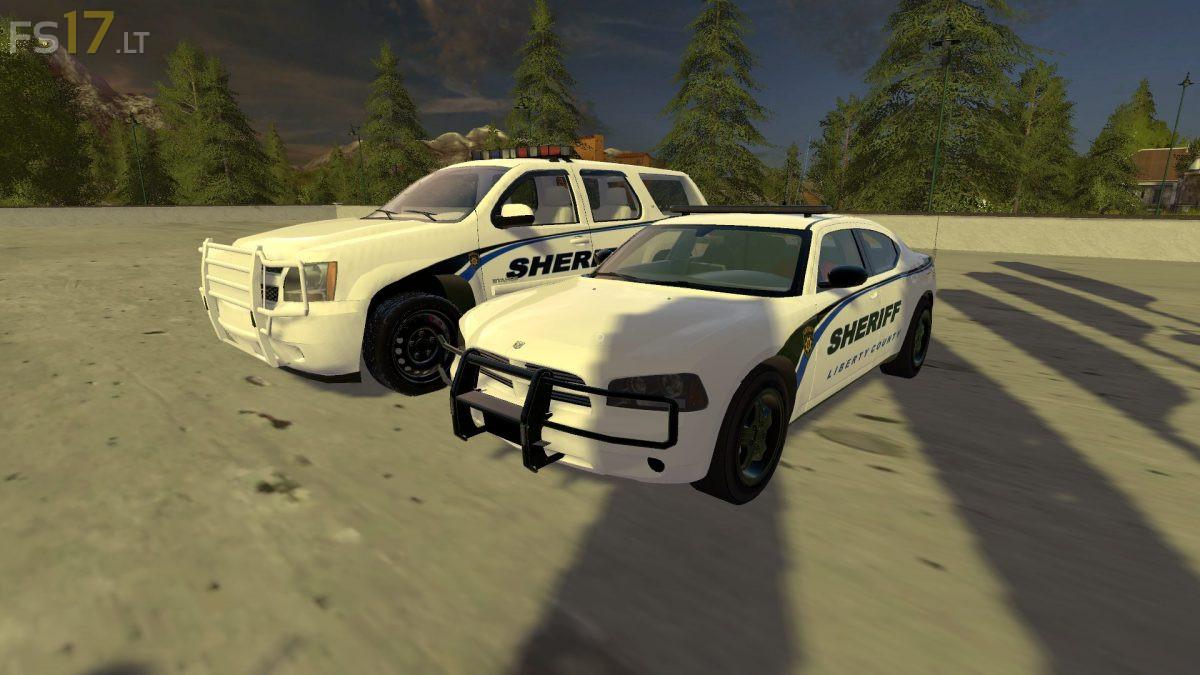 US Police Cars Pack v 1 0 - FS17 mods