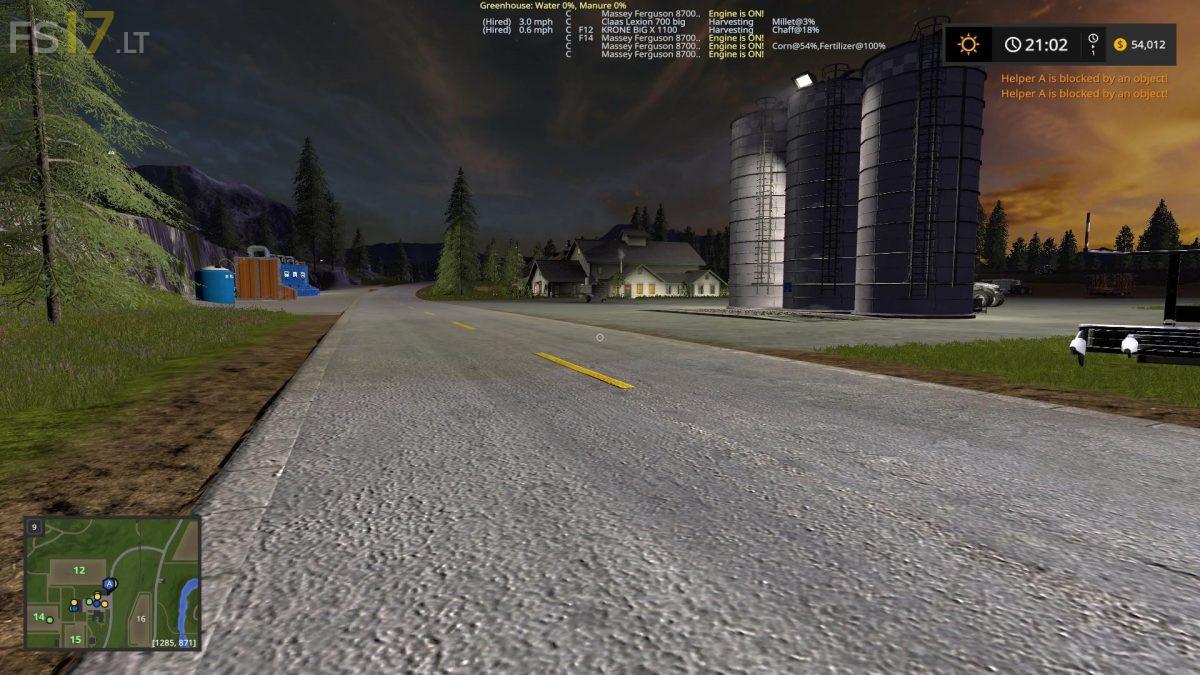 Goldcrest Valley Map v 2 0 - FS17 mods