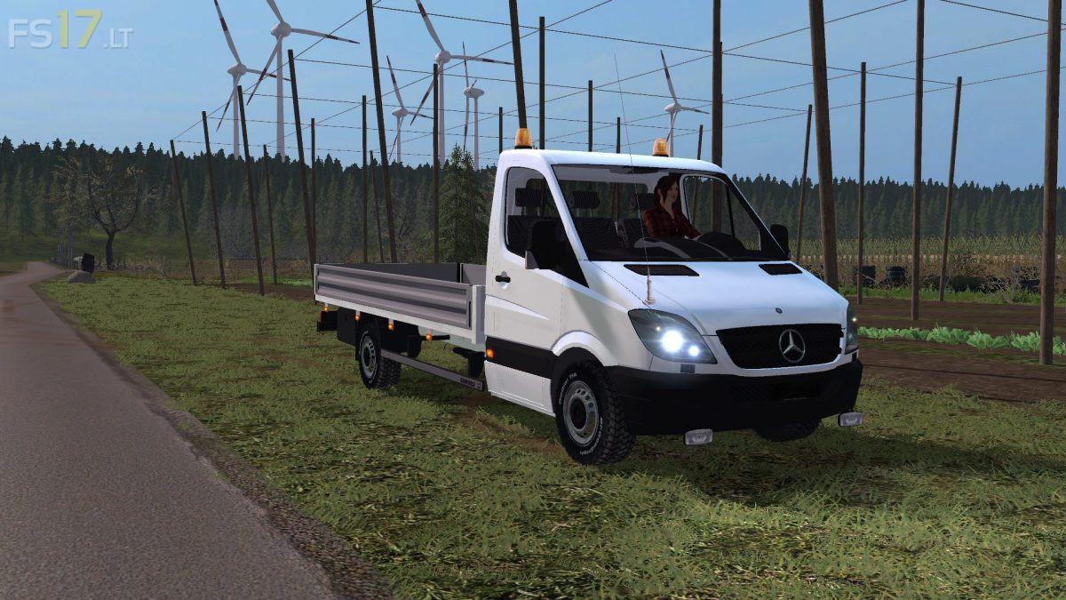 Mercedes Sprinter V 1 0 Fs17 Mods