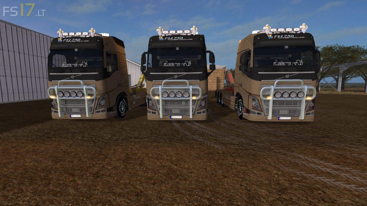 Volvo FH16 750 HKL v 4.0.0.3 Multicolor – FS17 mods