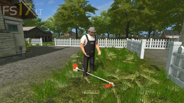 Weed Wacker v 1.0 – FS17 mods