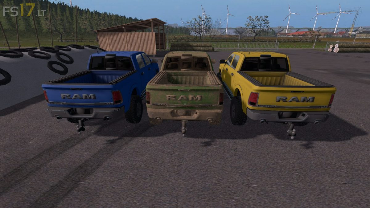 Dodge Ram Mod For Fs19 | 2019 Trucks