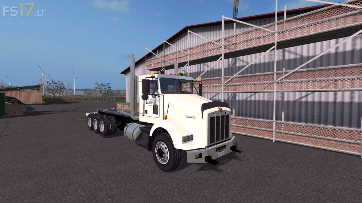 Kenworth Box Truck >> Kenworth T800 Hooklift v 1.0 – FS17 mods