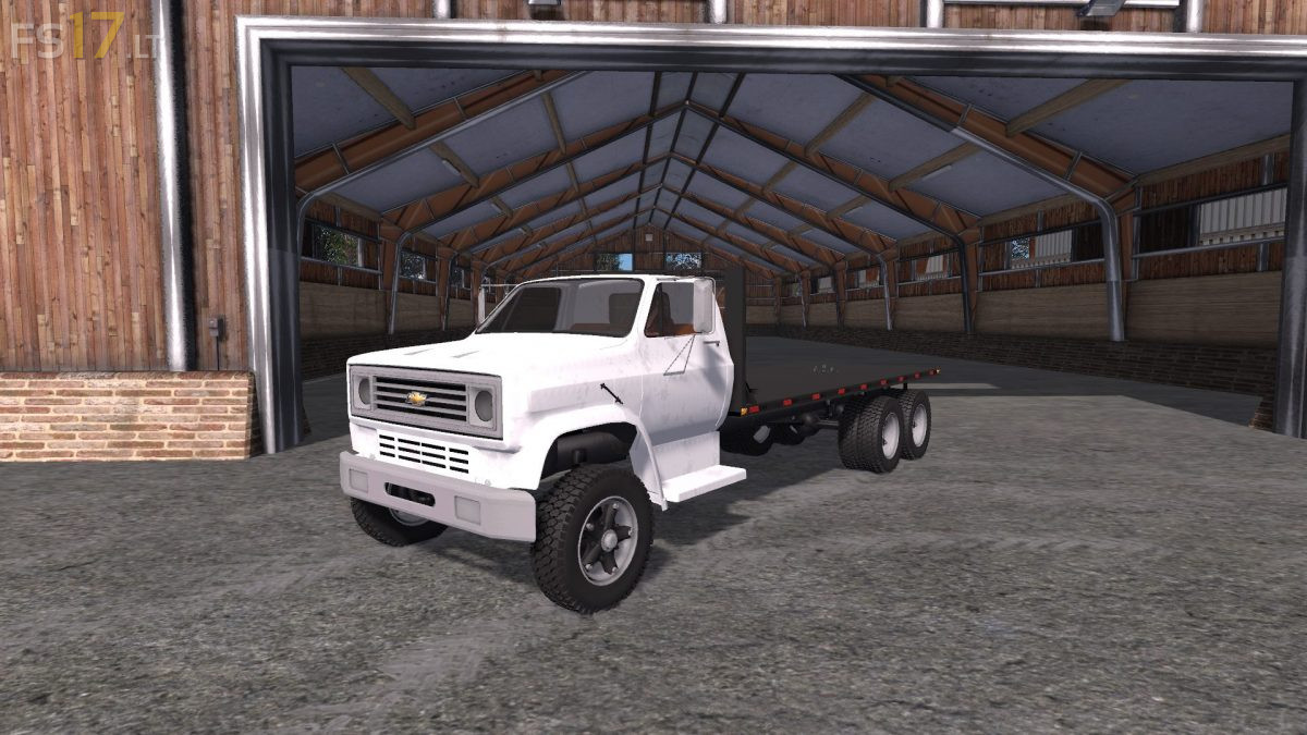 Chevy Box Truck >> Chevy C70 Flatbed v 1.0 Multicolor – FS17 mods