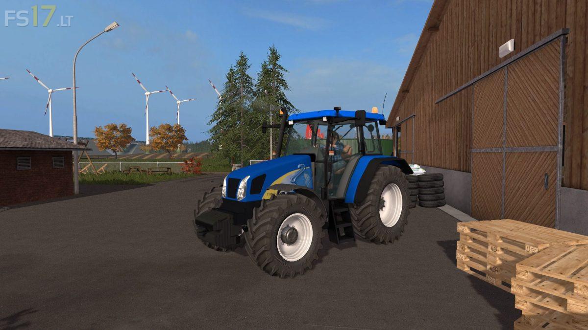 New Holland T5050 v 2 5 - FS17 mods