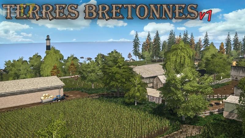 terres bretones map v 1 0 fs17 mods. Black Bedroom Furniture Sets. Home Design Ideas