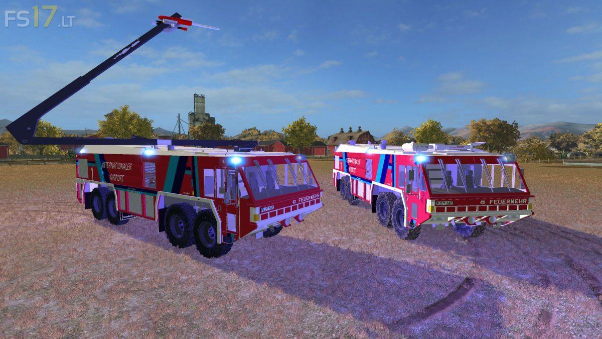 Airfield Fire Trucks v 1 0 - FS17 mods