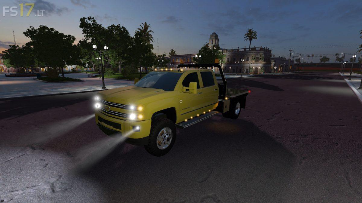 Chevy Silverado Hd Flatbed