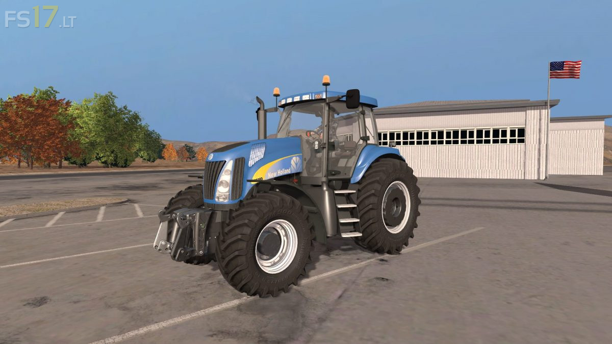 New Holland TG v 3.0 - FS17 mods
