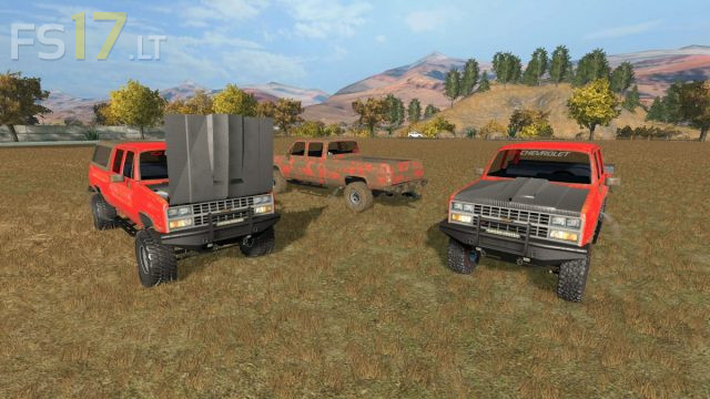 Chevy K10 v 1.0 - FS17 mods