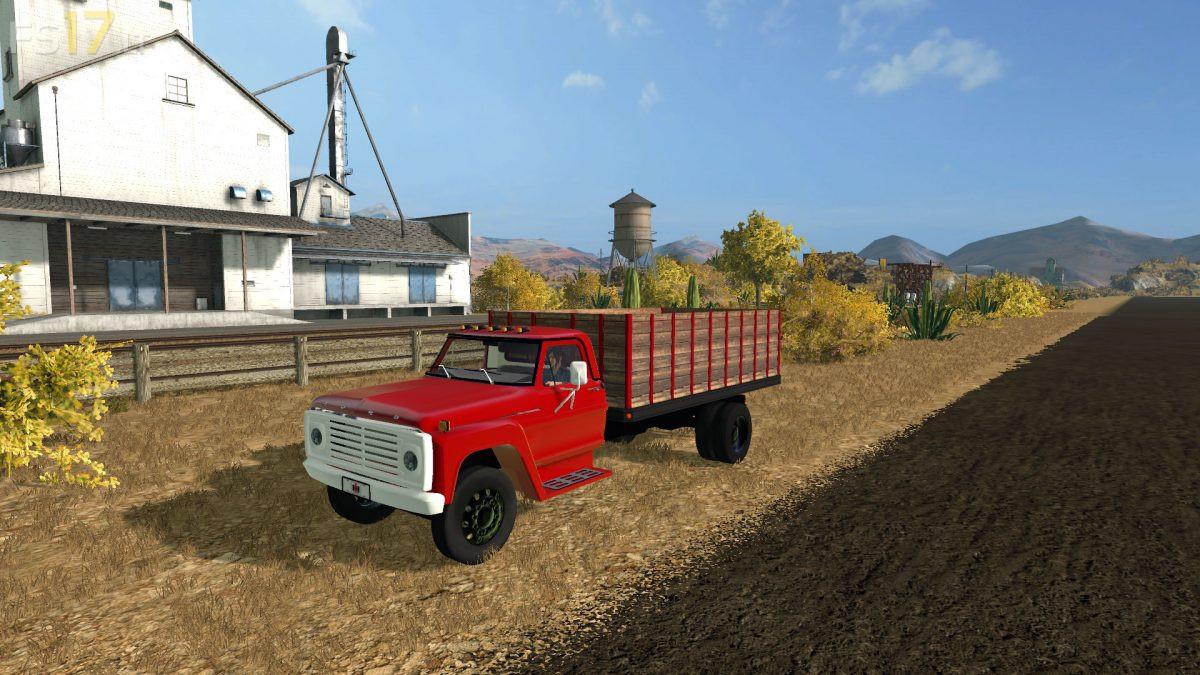 Ford F600 Grain Truck V 1 0 Fs17 Mods
