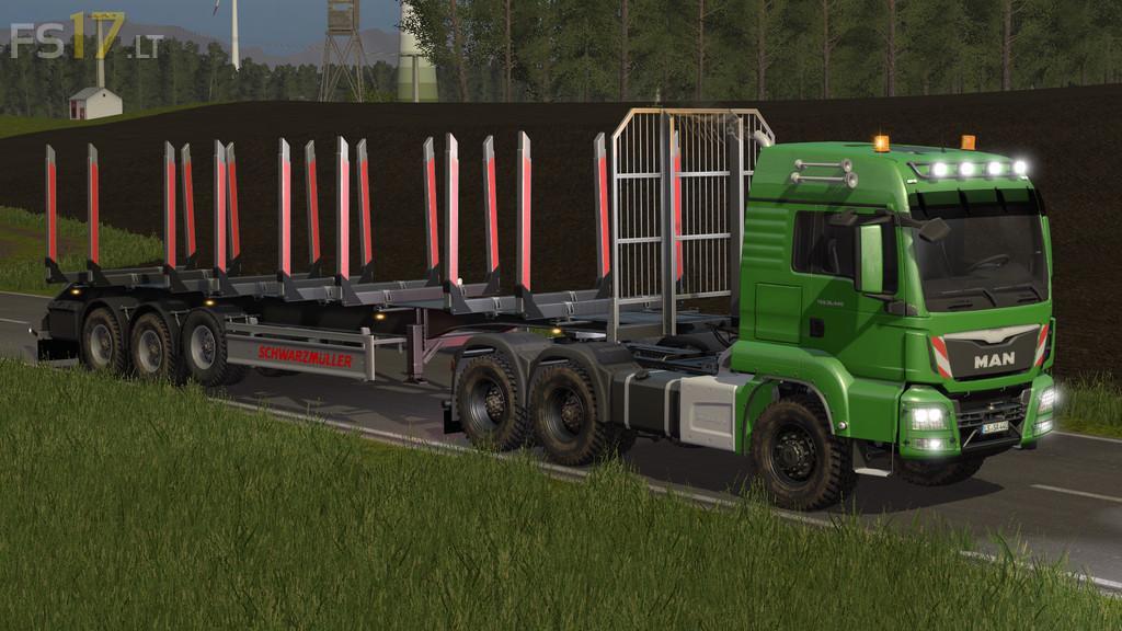 MAN TGS 26 440 Forest Pack v 1 0 - FS17 mods