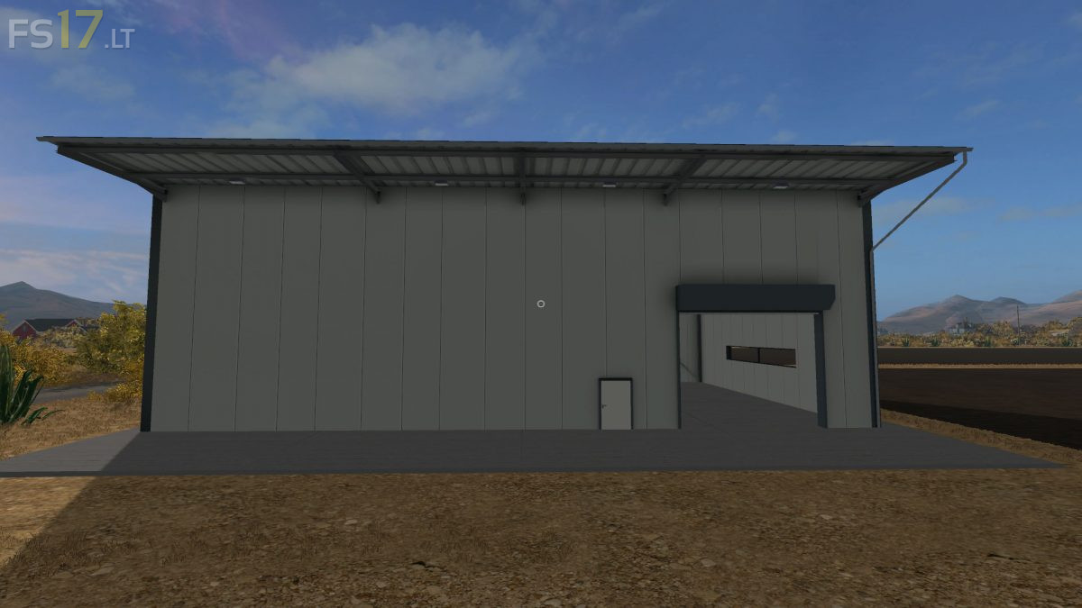 Placeable Industrial Hall V 1 0 Fs17 Mods