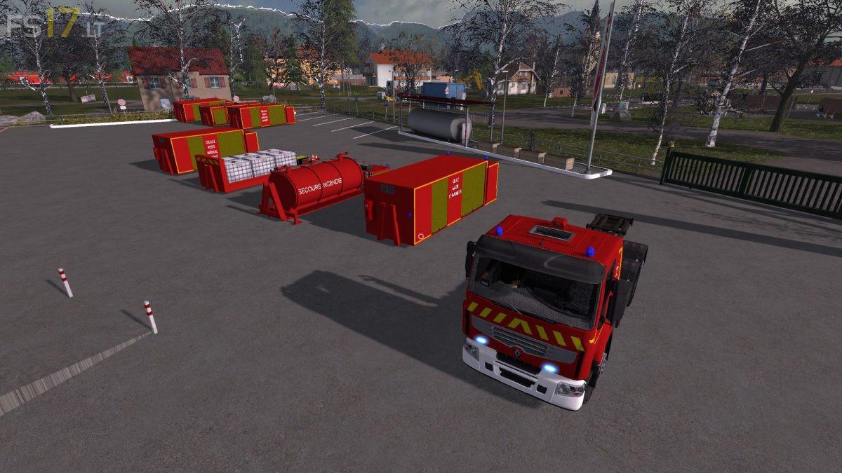 Fire Department Pack v 1 0 - FS17 mods