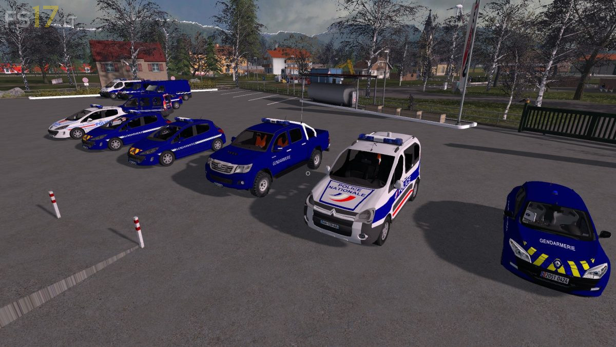 City Car Driving Mods Pack