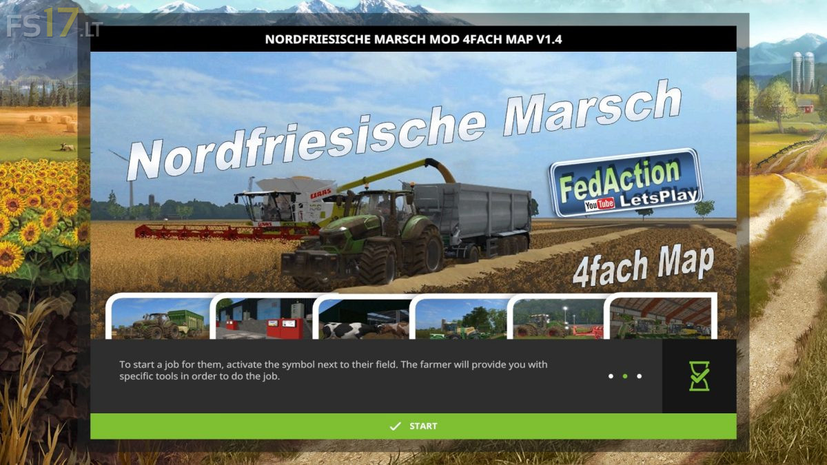 North Frisian March Map v 1 4 - FS17 mods