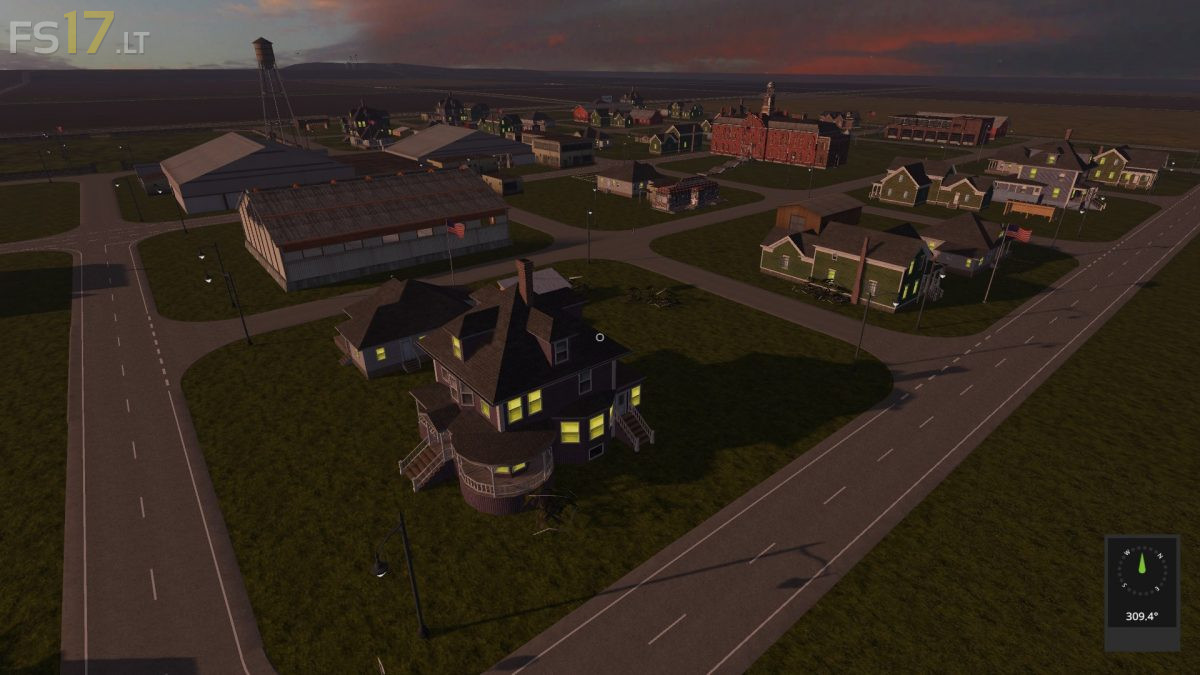 The Great Plains of USA Map v 2 4 - FS17 mods