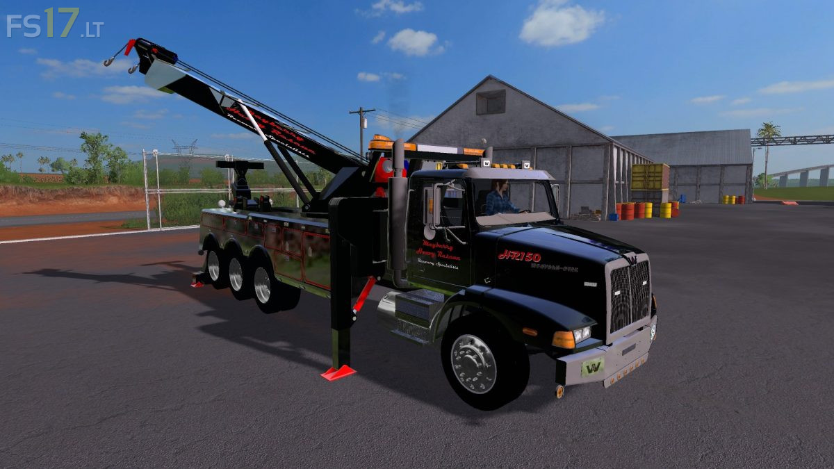Western Star 4900 Heavy Wrecker Rotator v 1.0 - FS17 mods