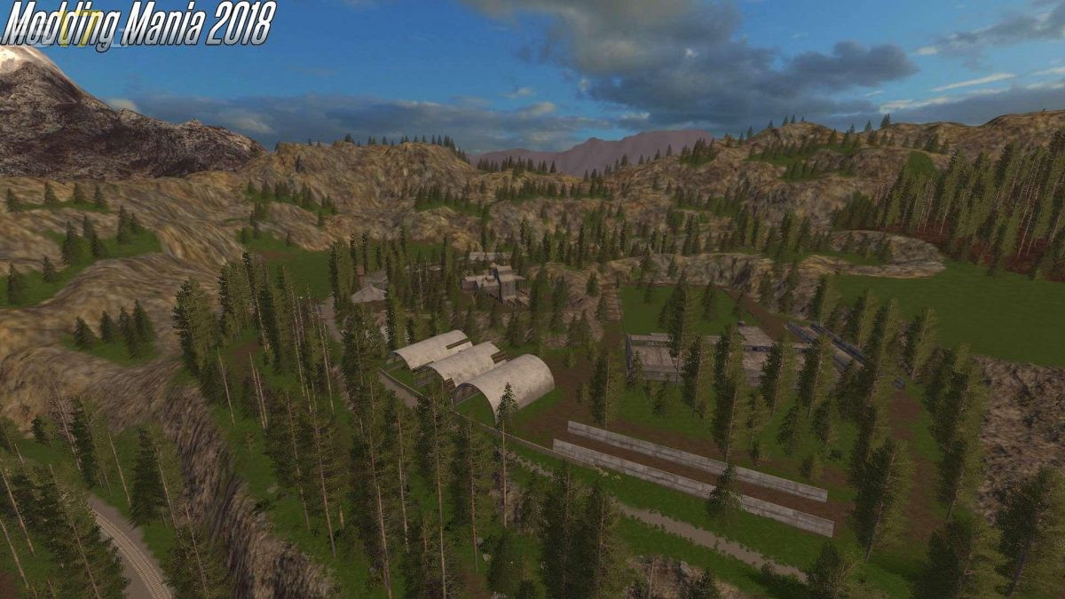 The Abandoned Forest Map V 1 0 Fs17 Mods